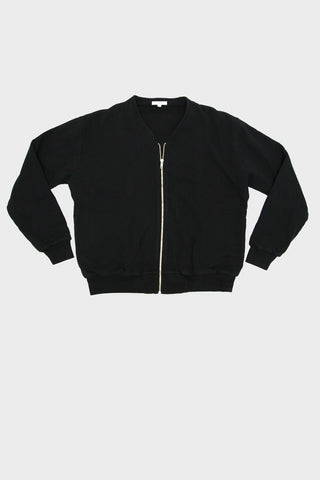 lady white co. Layered Zip Jacket - Black