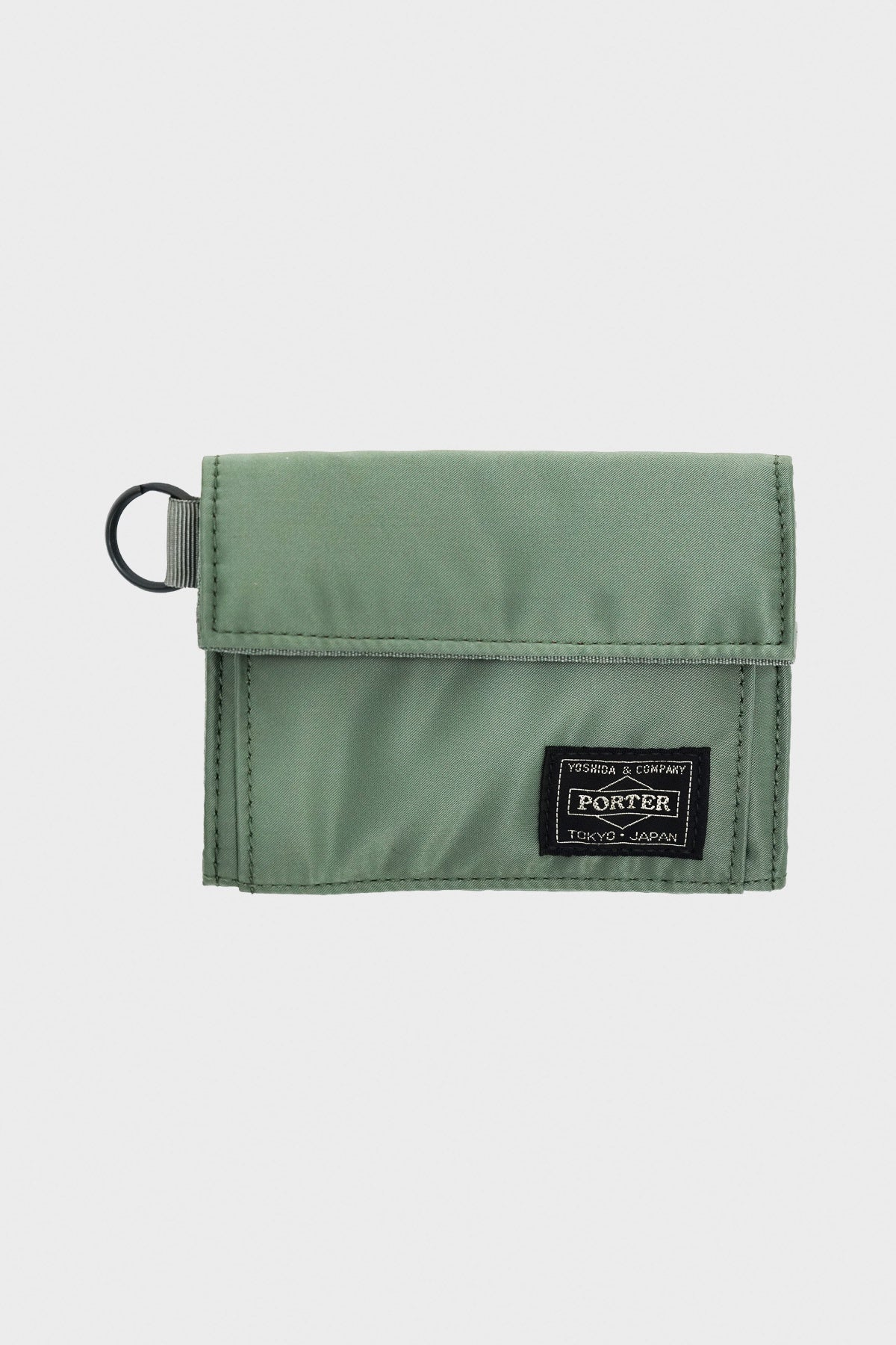 Porter Yoshida and Co - Nylon Wallet - Sage Green - Canoe Club