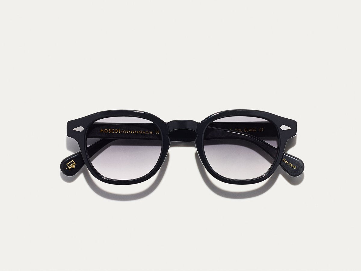 Moscot - Lemtosh - Black with American Grey Fade Lenses - Canoe Club
