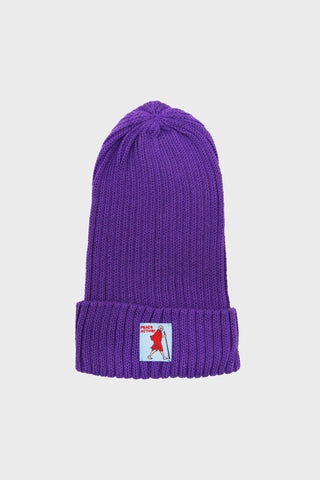 kapital 5G Cotton Knit Cap - Purple