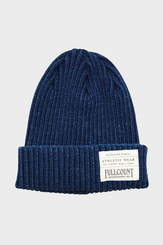 Rib Watch Cap - Indigo
