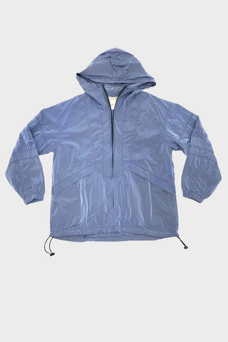 remi relief clothing japan Nylon Color Bleached Mountain Parka - Blue