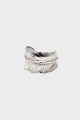 larry smith Plain Feather Ring