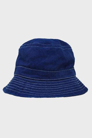 Corridor clothing nyc Bucket Hat - Duck Dye Indigo