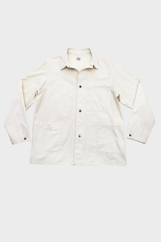 orslow 40's coverall jacket in ecru