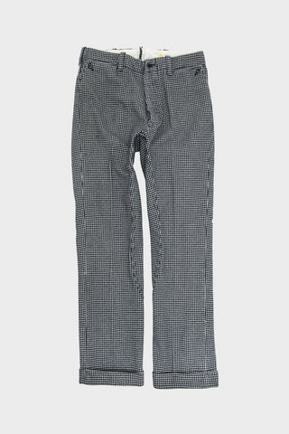 levi's vintage clothing lvc Riders Pants - Dogtooth Black White