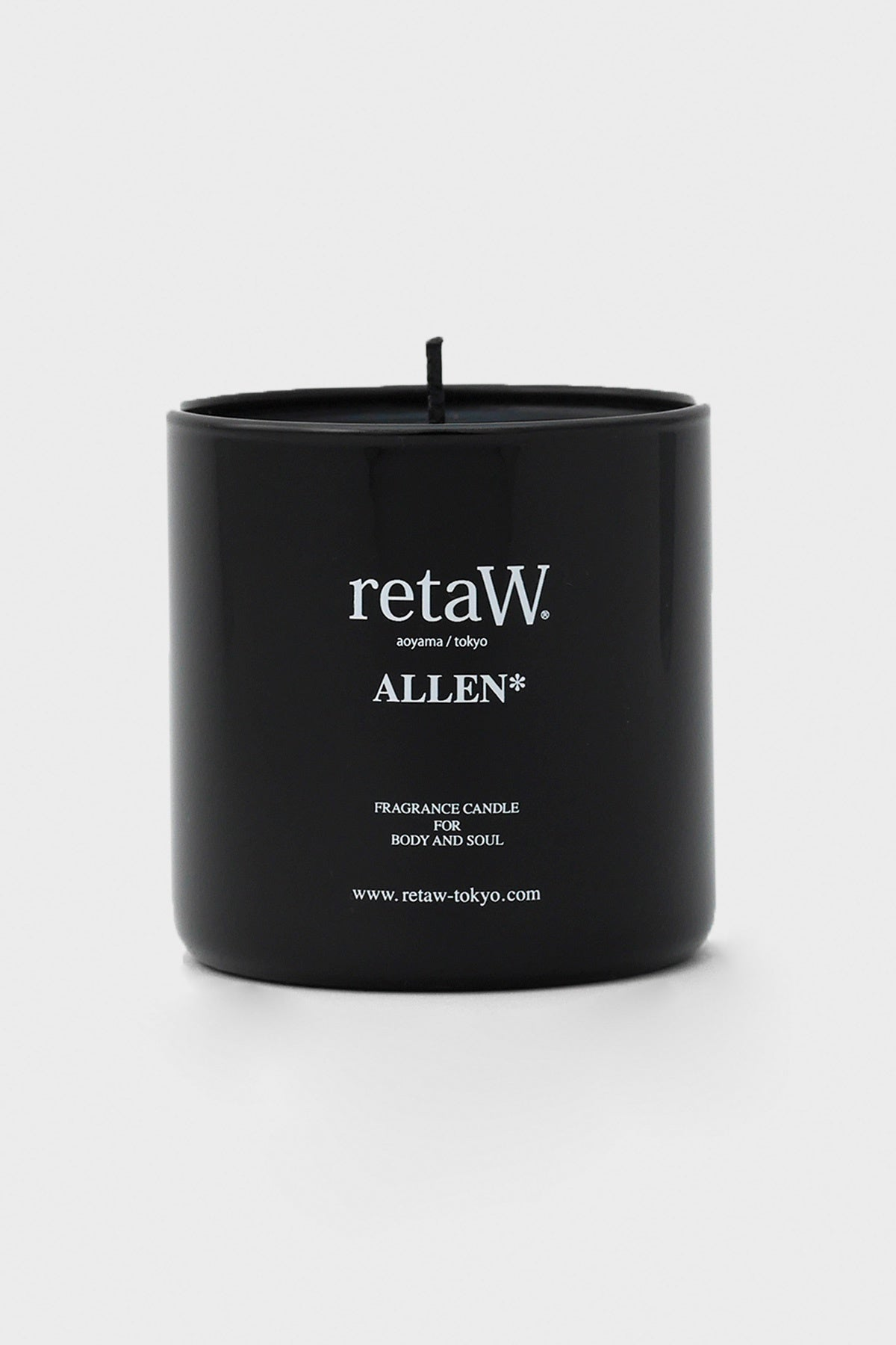 retaW - Black Fragrance Candle - Allen - Canoe Club