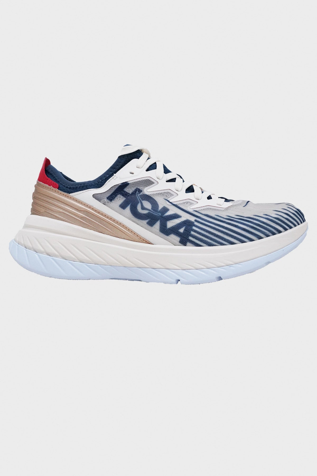 hoka one one Carbon X-SPE shoes - Tofu/White