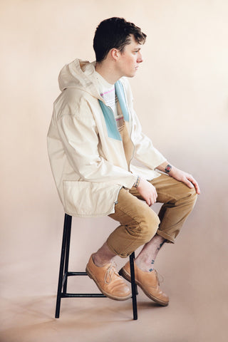 levi's vintage clothing lvc 1960's Anorak Jacket - Cloud Cream