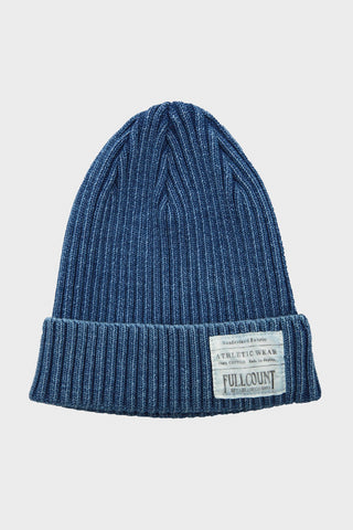 Rib Watch Cap - Faded Indigo