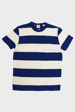 levi's vintage clothing lvc 1960's Casuals Stripe tee - Blue White Multi