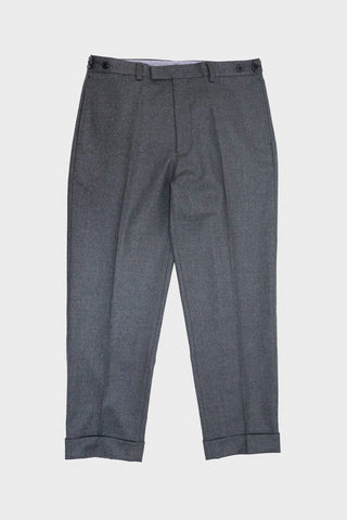 beams plus Ivy Flannel Trousers - Grey