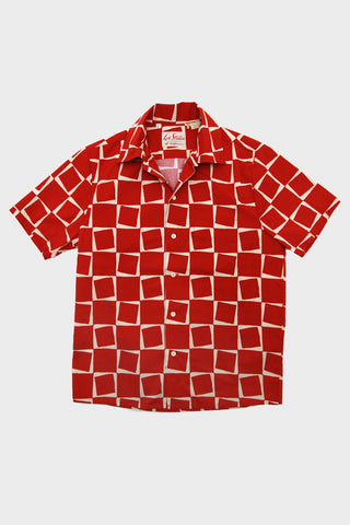 levis vintage clothing lvc 1950's Short Sleeve Shirt - Atomic Square Print