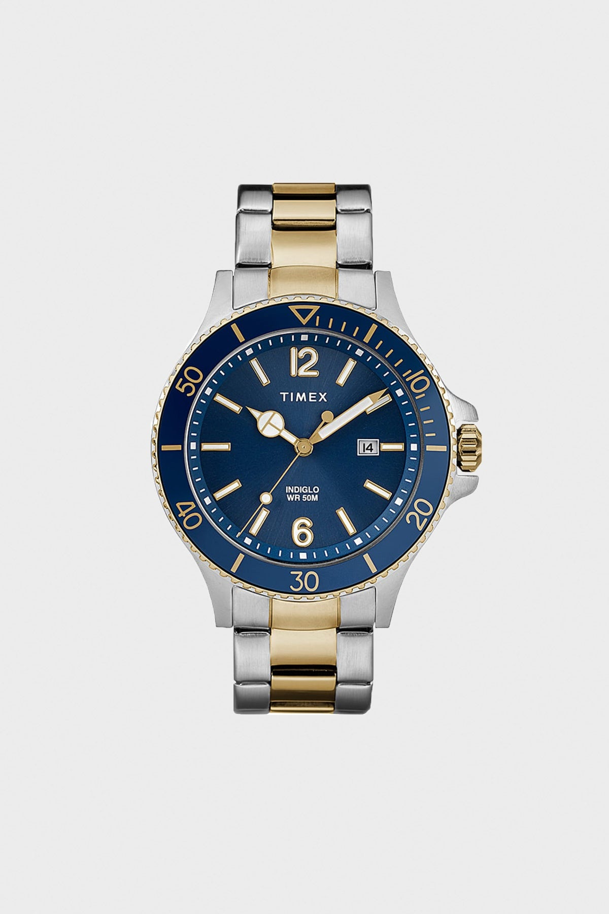 Timex - Harborside Coast 43mm - Two Tone - Canoe Club