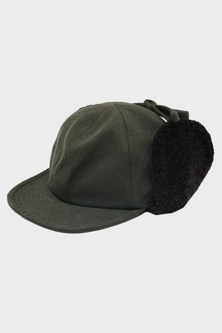 beams plus 6 Panel Boa Cap - Olive