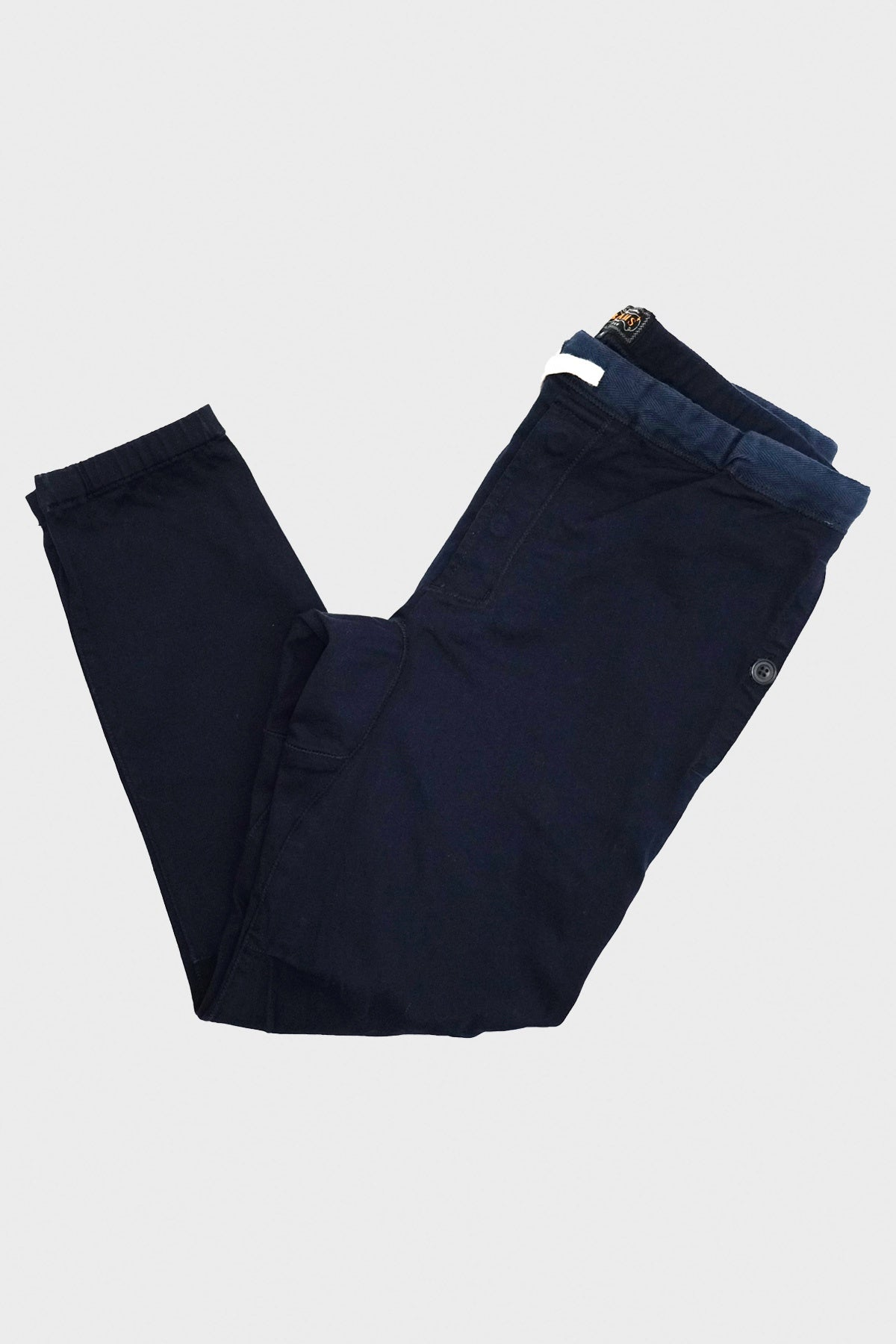 Beams Plus - Gym Pants Slim Twill - Navy - Canoe Club