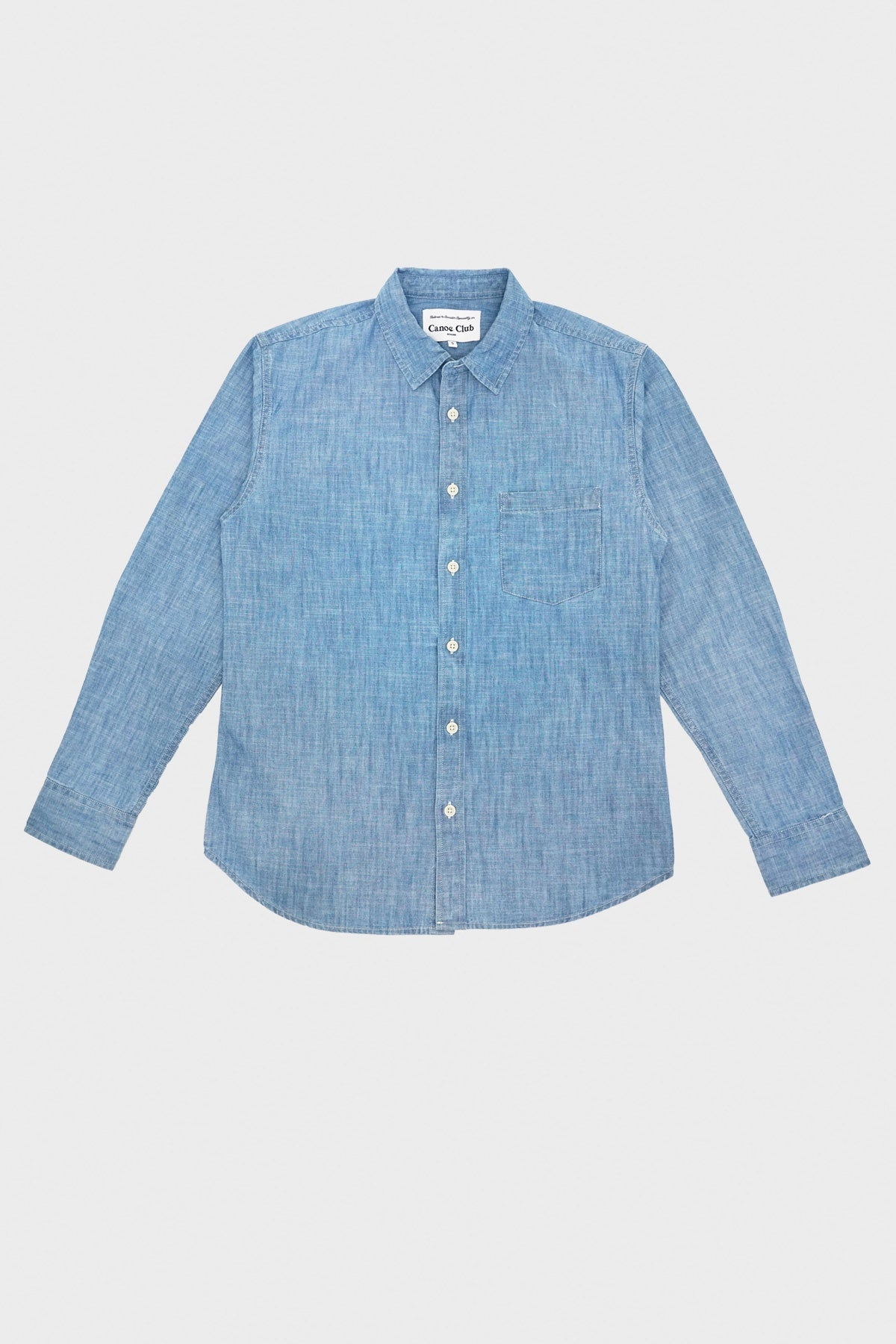 corridor clothing nyc Canoe Club Chambray - Blue