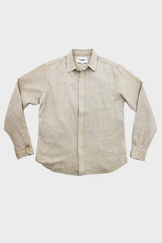 Corridor clothing nyc Basketweave Shirt - Natural