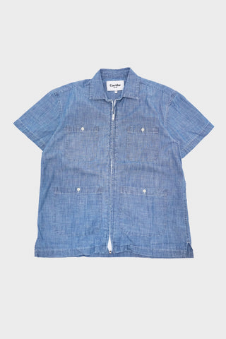 corridor clothing nyc Pool Jacket - Washed Chambray