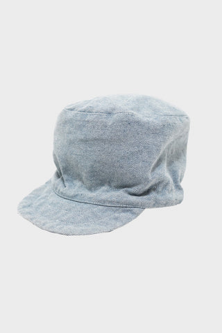 engineered garments FM Cap - Blue Upcycled Denim