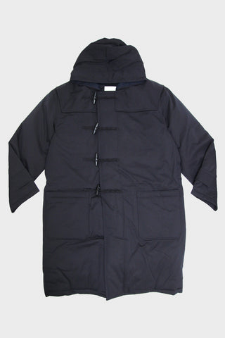 nanamica Down Duffle Coat - Dark Navy