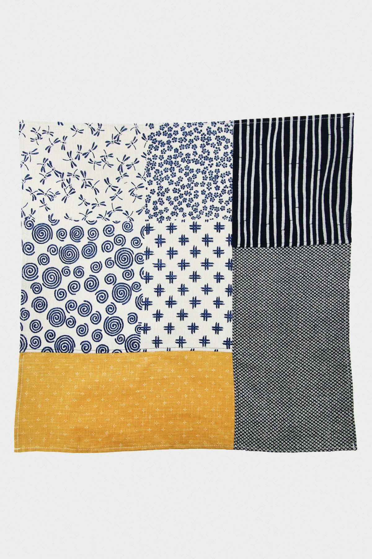 Kiriko - Patchwork Bandana - Yellow - Canoe Club