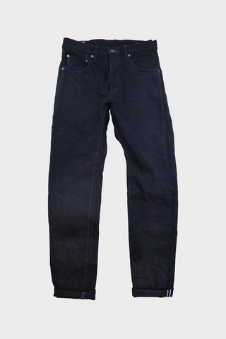 tanuki denim japan IDHT - Double Indigo 15oz Selvedge Denim High Rise Tapered Fit