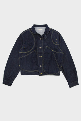 kapital 11.5oz Denim RINGOMAN Jacket - Indigo