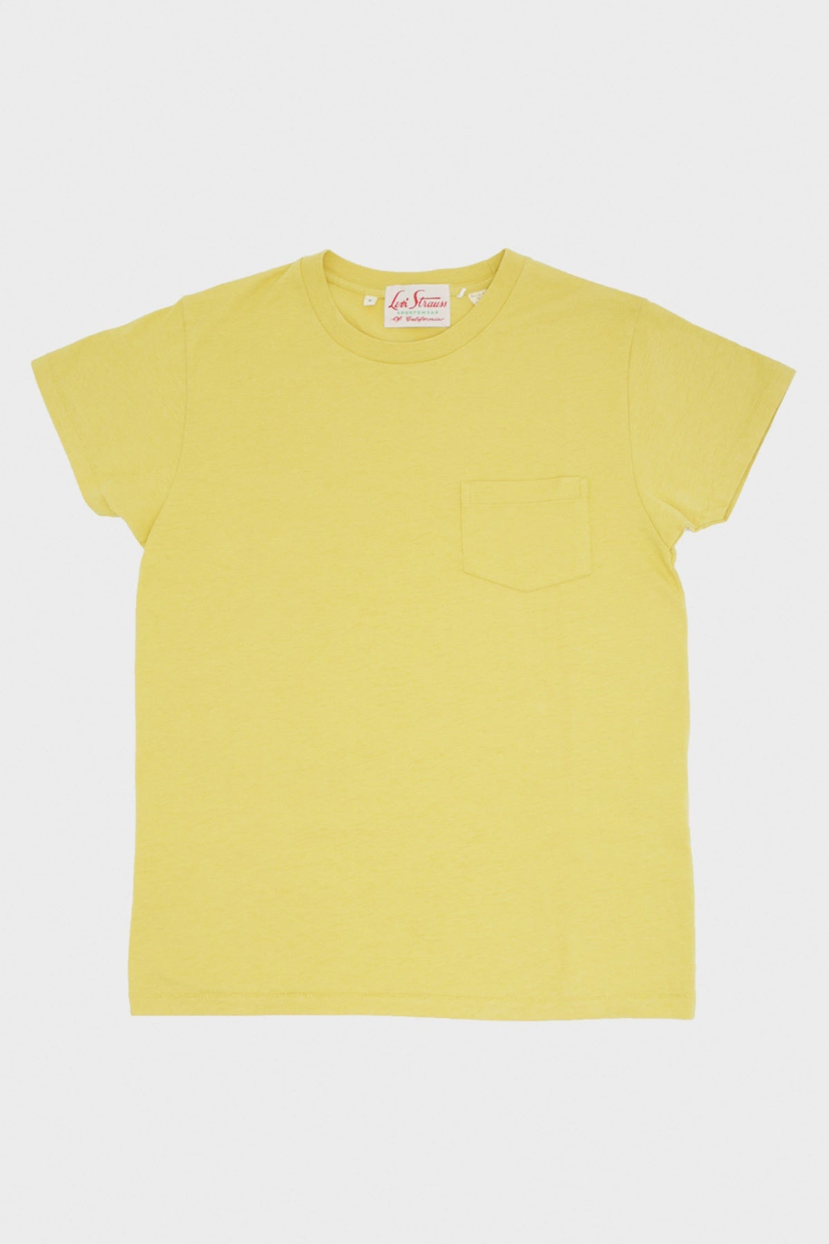 Levi's Vintage Clothing - 1950s Sportswear Tee - Misted Yellow - Canoe Club