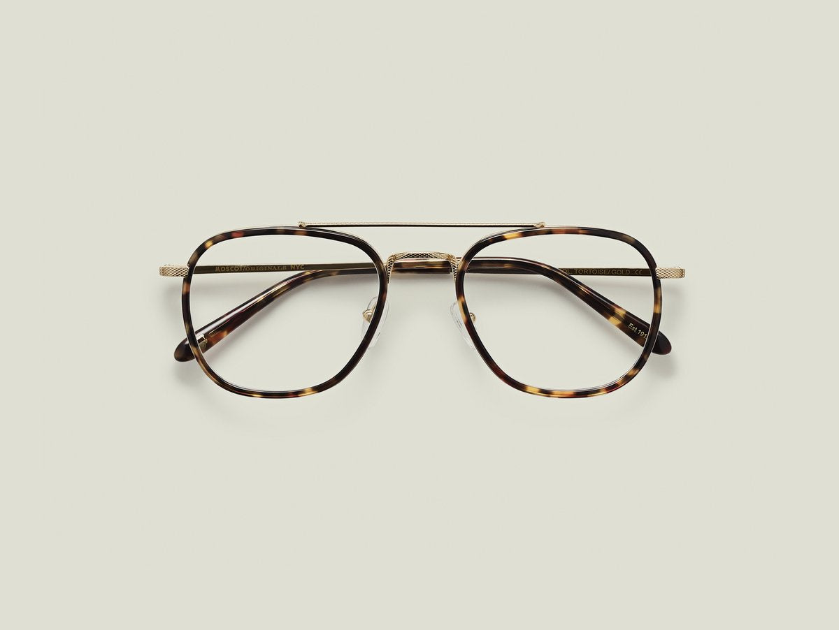 Moscot - Macher - Tortoise/Gold Optical - Canoe Club