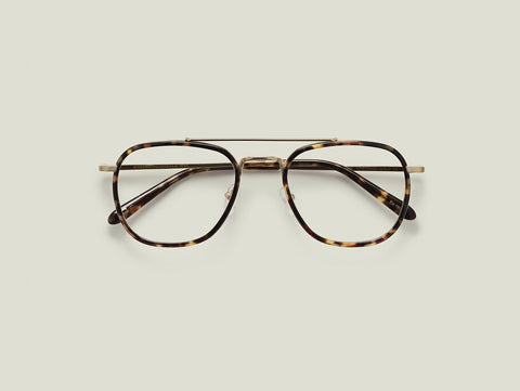 Macher - Tortoise/Gold Optical