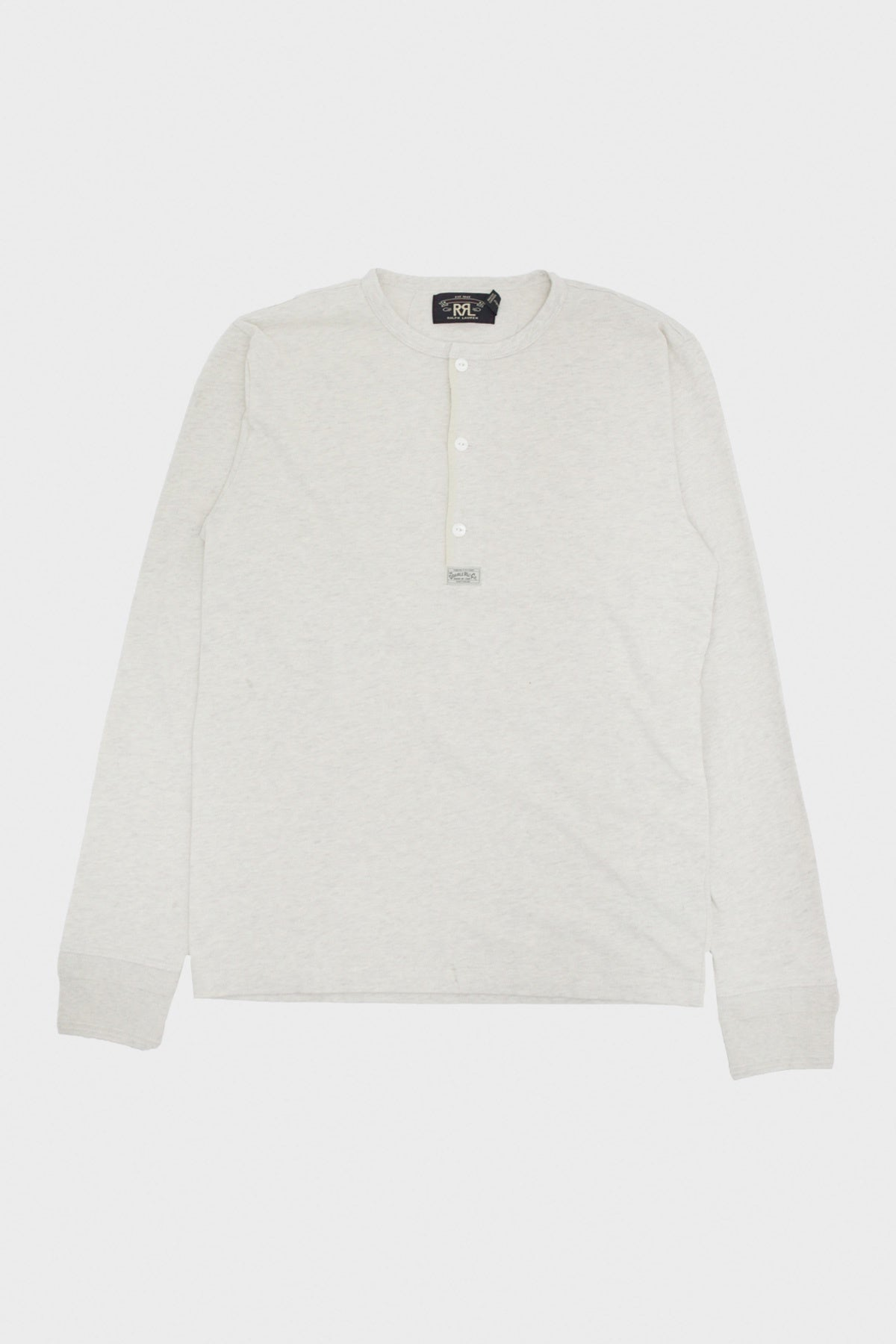 RRL - Cotton Slub Jersey Knit - Natural - Canoe Club