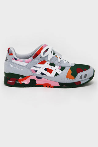 comme des garcons shirt Asics Gel Lyte III - Multi Color