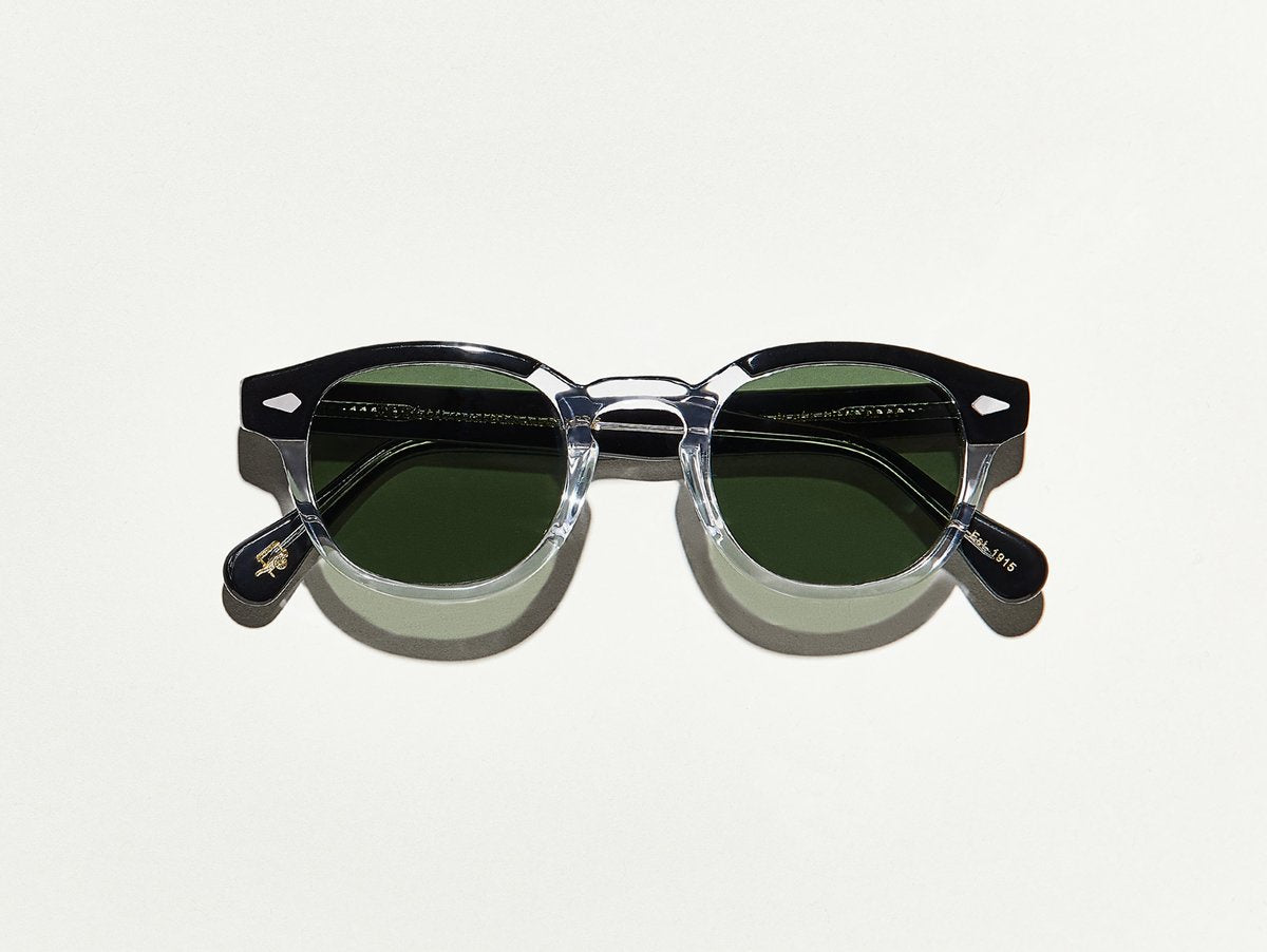 Moscot - Lemtosh - Black Crystal/G15 Lenses - Canoe Club