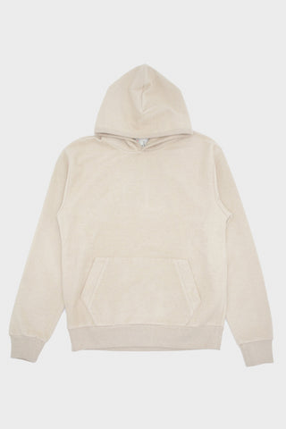 la paz Matias Hoodie - Light Brown Fleece