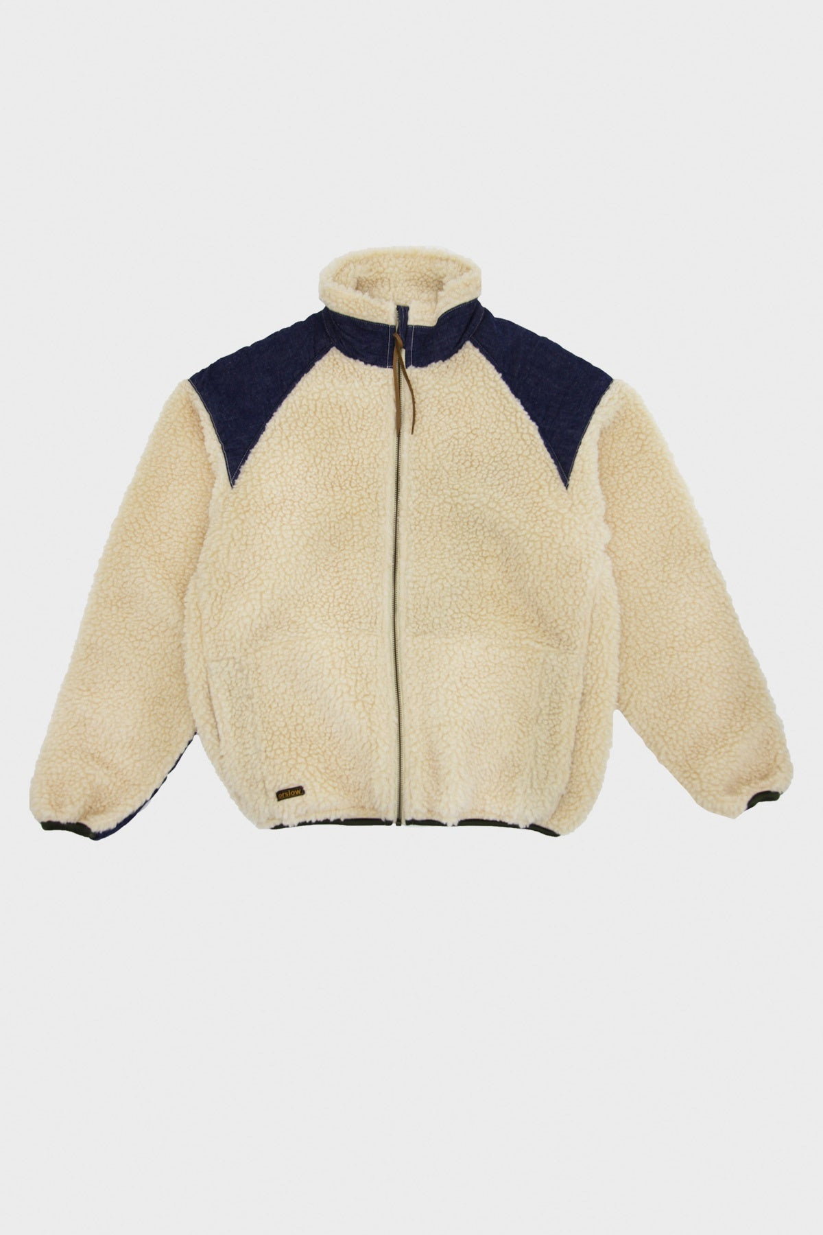 orSlow - Fleece Jacket - Ecru - Canoe Club