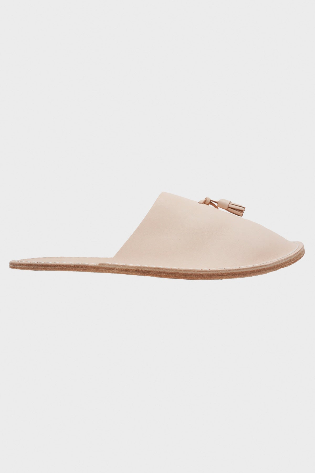 Hender Scheme - Leather Slipper - Natural - Canoe Club