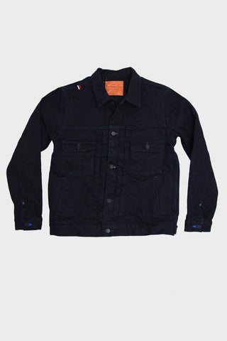 IDJKT2 - Double Indigo 15oz Selvedge Denim - Type II Denim Jacket