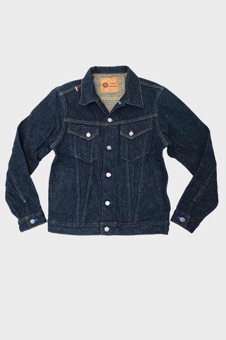 Oni X Tanuki denim japan Type III Jacket