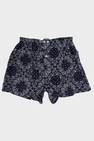 Anonymous Ism Paisley Boxer - Navy