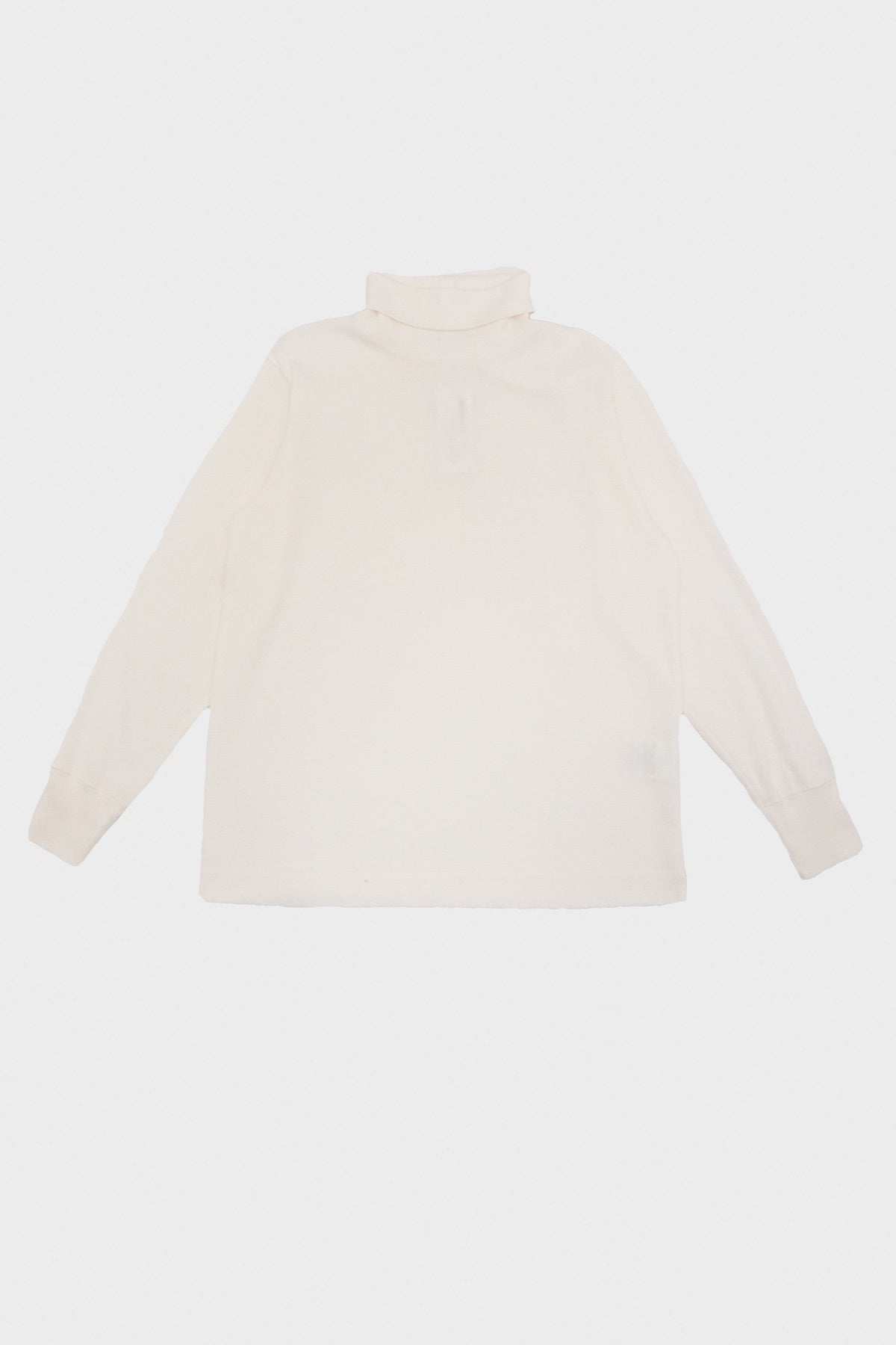 nanamica - Turtle Neck Long Sleeve Tee - Off White - Canoe Club