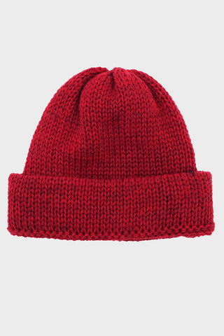 universal works Short Watch Cap - Red