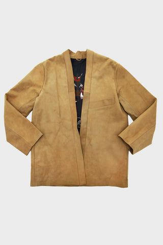 Roughout Leather SHA-KA Jacket - Camel