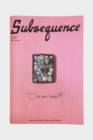 visvim's Subsequence Magazine Vol. 1