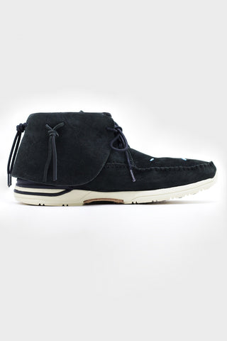 visvim FBT Lhamo shoes - Folk Black