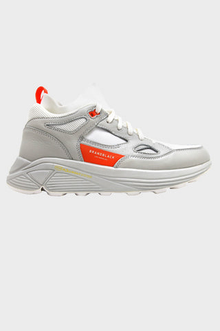 brandblack Aura - White/Orange