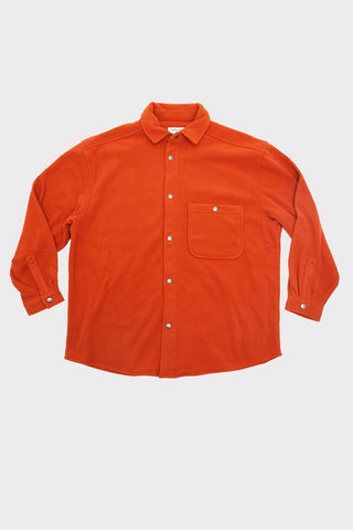 you must create (ymc) Lightweight Fleece Ryder Overshirt - Rust