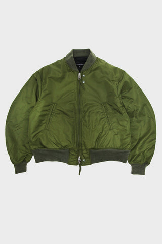 engineered garments SVR Jacket - Olive Flight Satin Nylon
