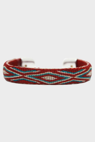 Bendable H.H.H. Bracelet - Burgundy