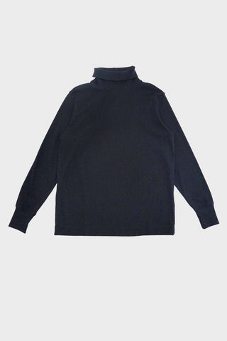 nanamica Turtle Neck Long Sleeve Tee - Dark Navy